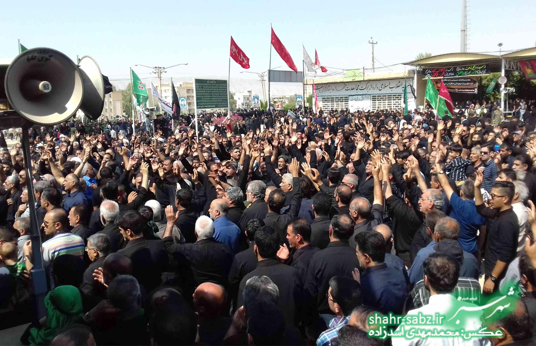 28-06-97 تاسوعای حسینی در کازرون / عکس: محمدمهدی اسدزاده