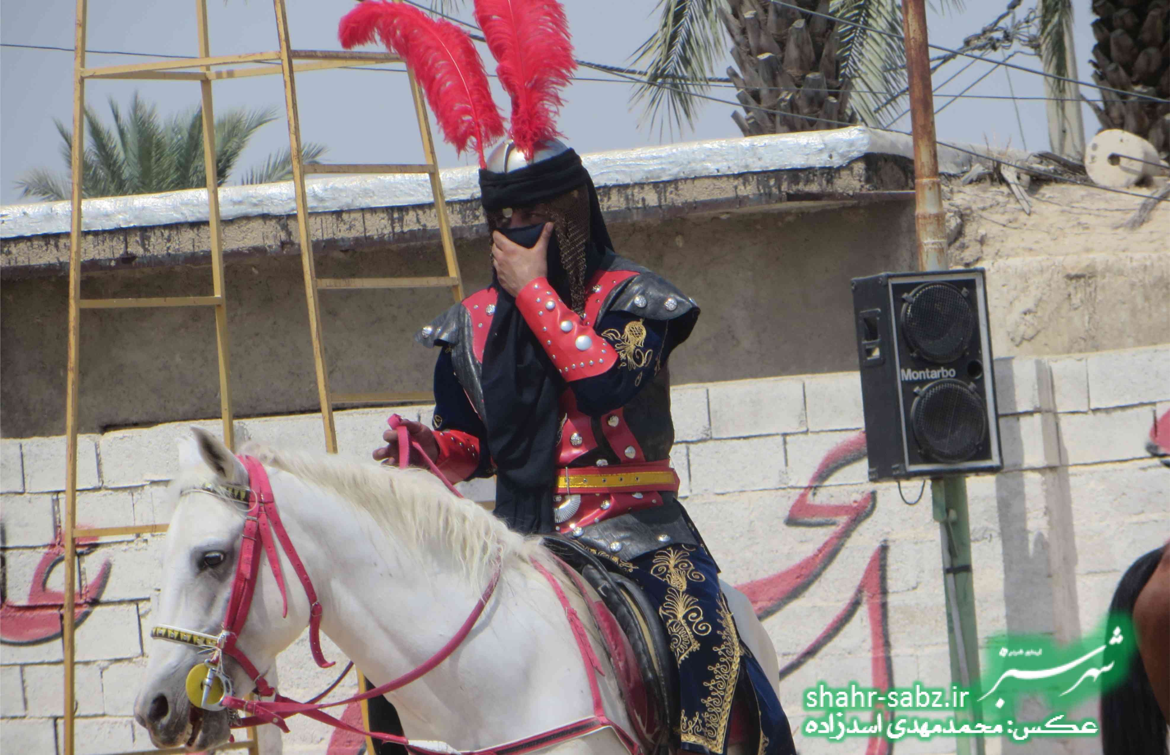29-06-1397 تعزیه روز عاشورا در روستای دریس کازرون -عکس: محمدمهدی اسدزاده