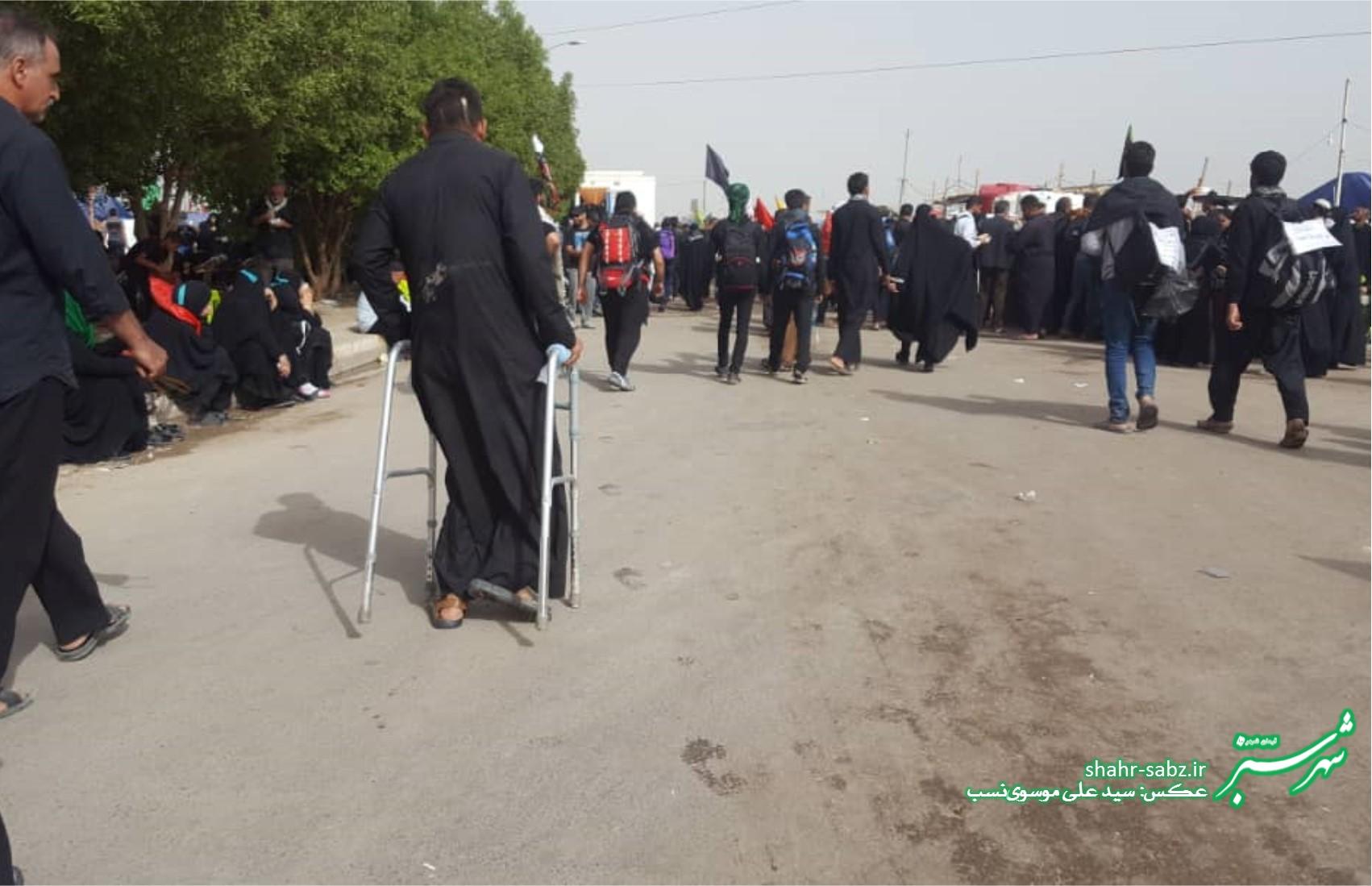 راهپیمایی اربعین حسینی/ 6 آبان 1397/ عکس از سید علی موسوی نسب