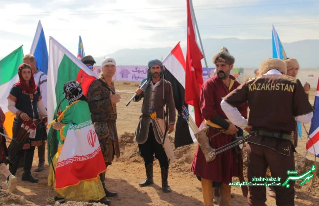 مسابقات جهانی رزم سواره در شیراز/ عکس: محمدکاظم تابنده