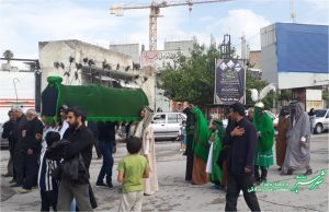 تشییع نمادین امام حسن مجتبی در کازرون/ 16 آبان1397/ عکس: زینب صادقی