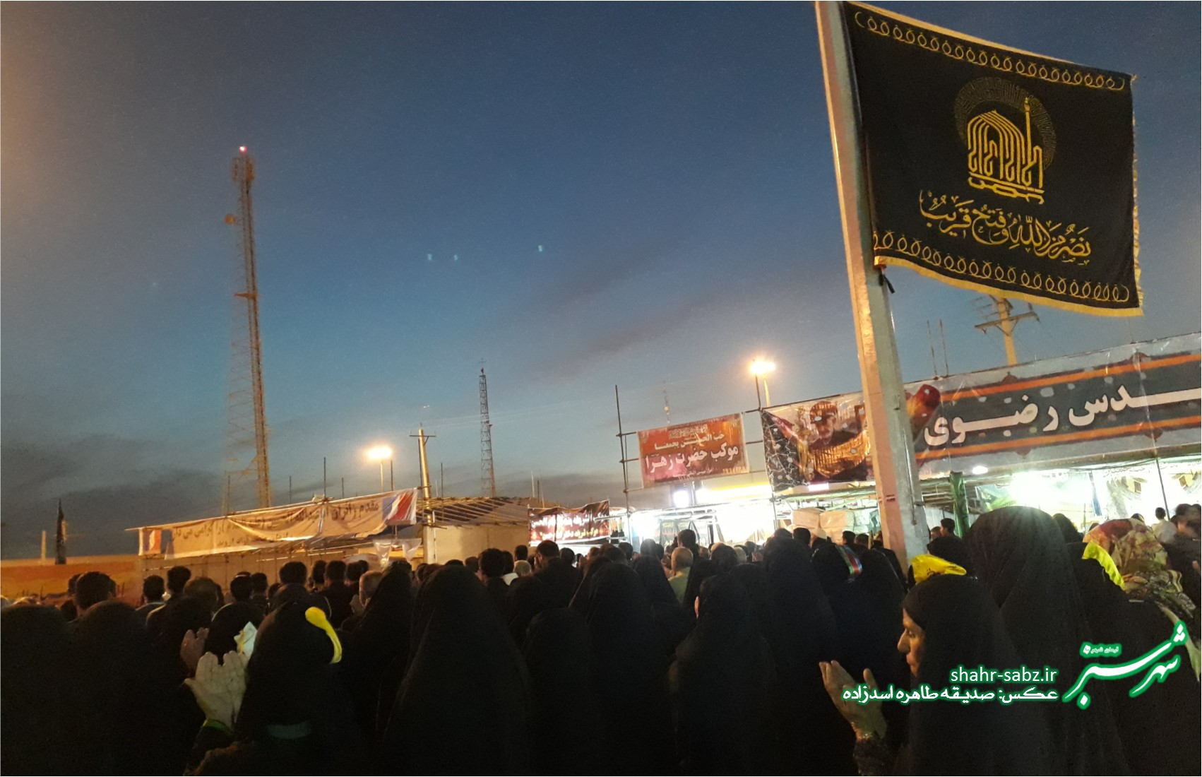 راهپیمایی اربعین حسینی/ آبان ماه 1397/ عکس: صدیقه طاهره اسدزاده