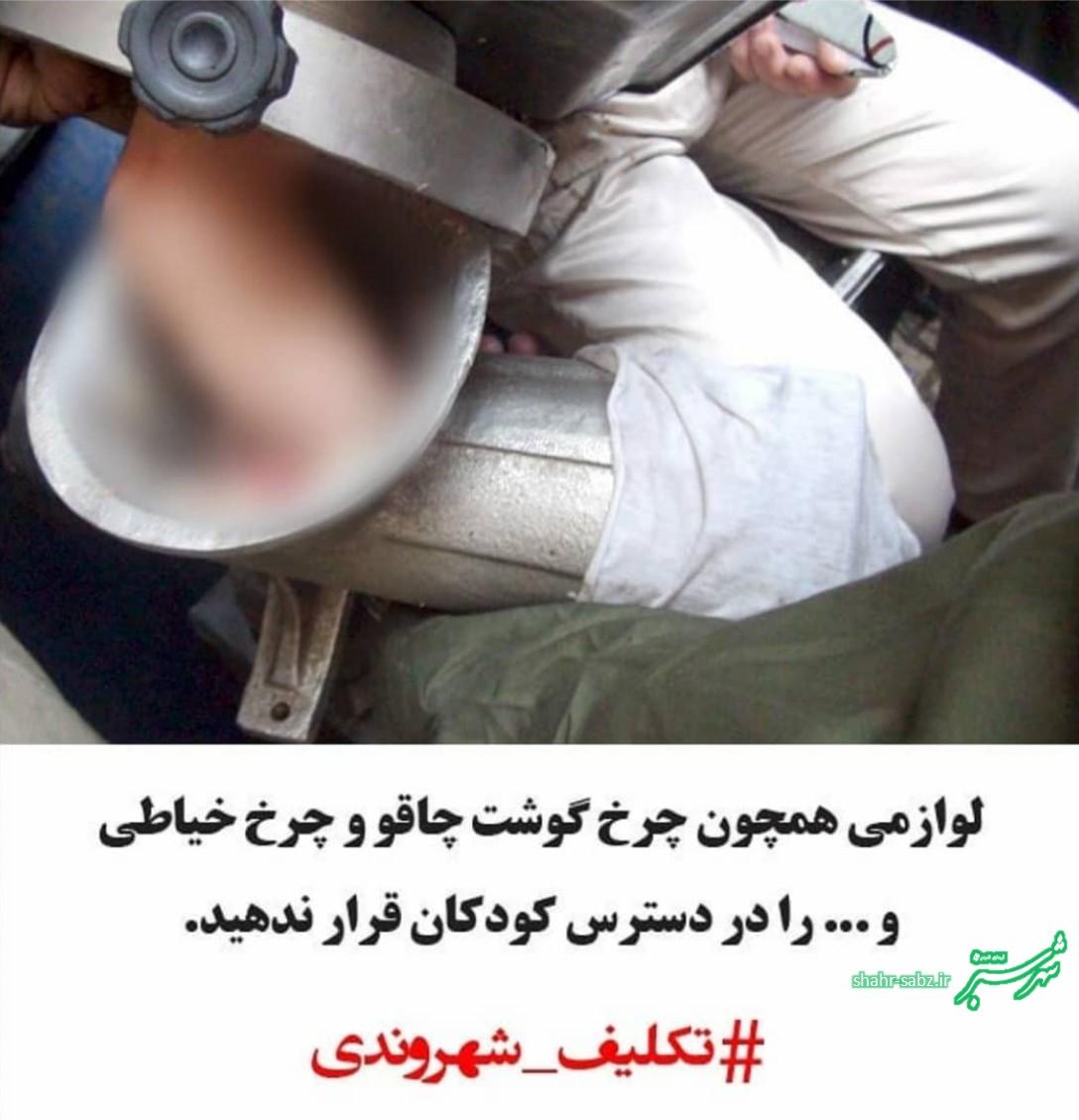 تکلیف شهروندی: چرخ گوشت