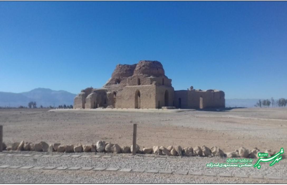 کاخ ساسان سروستان