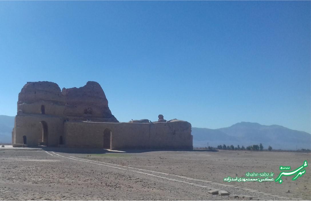 کاخ ساسانی سروستان/ عکس: محمدمهدی اسدزاده