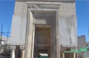 مقبره شیخ یوسف بن یعقوب سروستانی و محمد بن حسنعلی البیظاوی/ عکس: محمدمهدی اسدزاده