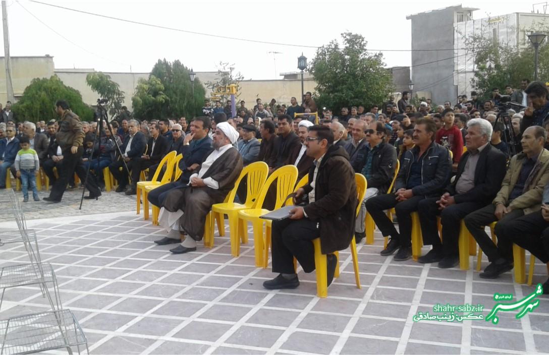 بزرگداشت ناصر دیوان کازرونی/ عکس: زینب صادقی