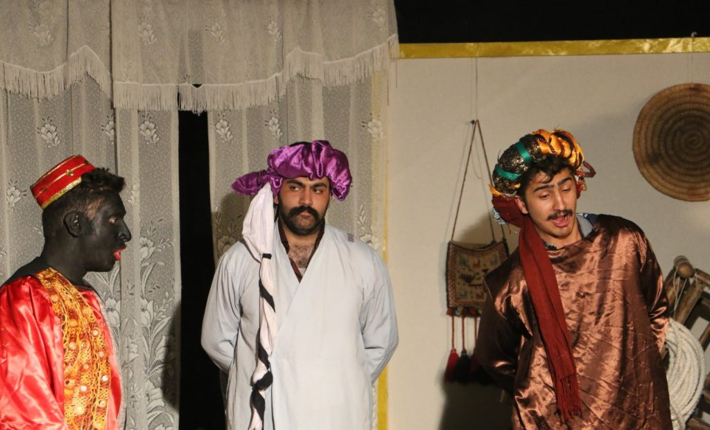 نمایش سیاه و پری در سالن استاد سپاسدار شیراز/ عکس: محمدمهدی اسدزاده