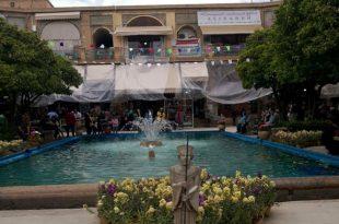 سرای گلشن شیراز/ عکس: کیمیا موحد