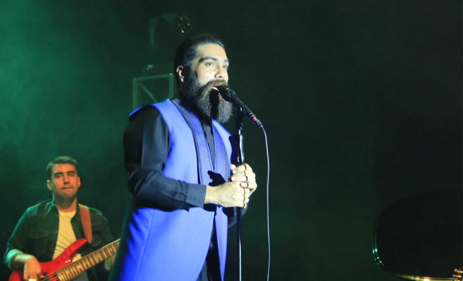 کنسرت علی زندوکیلی در تالار حافظ شیراز فروردین 98/ عکس: محمدمهدی اسدزاده