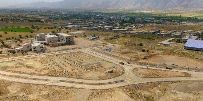 بزرگترین پروژه عمرانی توسعهی دانشگاهی در کازرون یک گام دیگر به پیش رفت